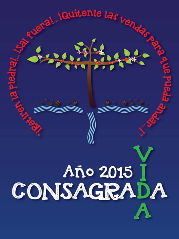 Logo del Año de la Vida Consagrada de la CLAR