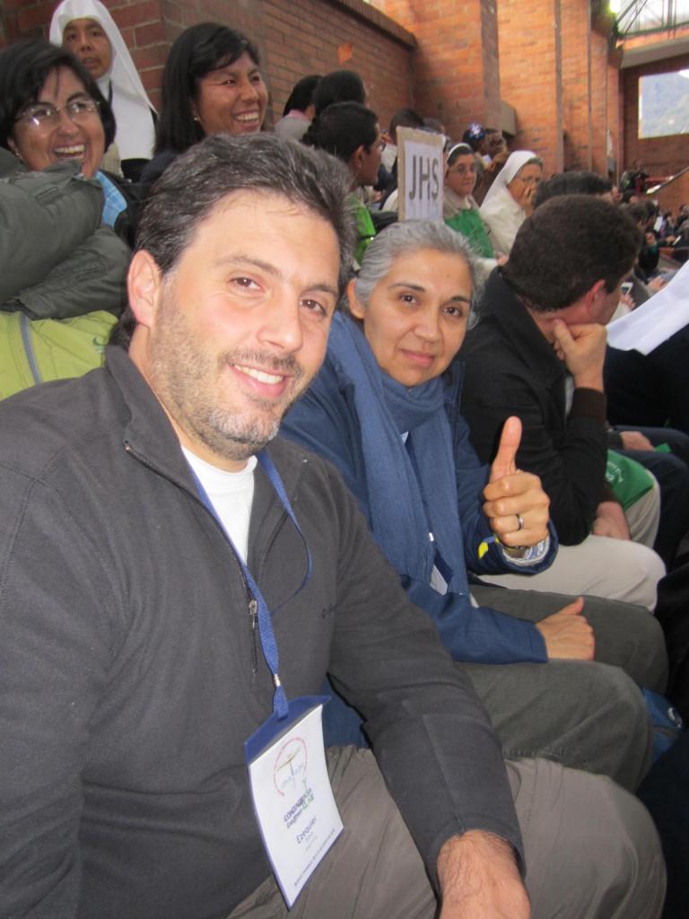 Hna. Ana María Guantay, representando a la Confar en el Congreso de Vida Consagrada (Colombia)