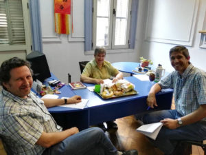 Reunión del Equipo Interdisciplinario Reflexivo