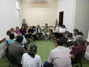 Reunión Junta Directiva Nacional con la Red Kawsay