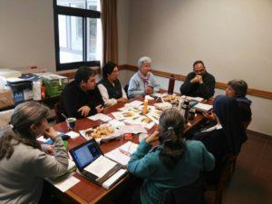 reunión de la Junta Directiva Nacional en el Cenáculo Pilar 15/5/17
