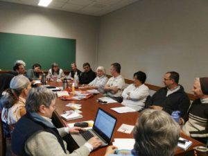 Junta ampliada de CONFAR EN Pilar