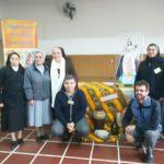 Representantes de Confar con la junta de Religiosos de San Juan